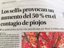 Los expertos advierten de que el selfie aumenta el riesgo de contagio de piojos