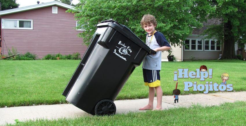 piojos y basura