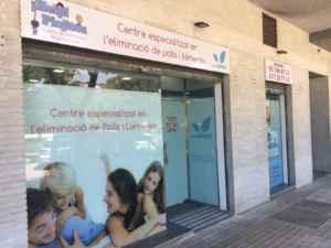 Centro de eliminación de piojos y liendres en Casteldefels
