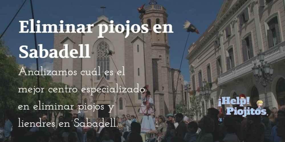 Eliminar piojos en Sabadell es fácil con ¡Help! Piojitos