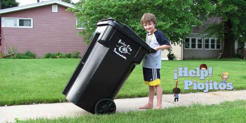 ¿Qué relación hay entre los piojos y la basura? ¿Se pueden esconder en el contenedor?